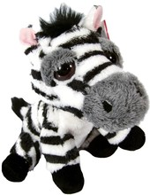 China Wholesale Kid Toy Christmas Gift 15cm Zebra Stuffed Toys Plush Toys with Big Eye