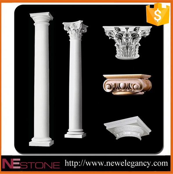 For garden decorative stone pillars and columns design natural stone water pillar tap