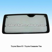 CAR BACK WINDOW FOR TOYOTA HIACE 2005 / TOYOTA COMMUTER VAN
