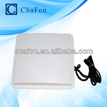 rfid antenna uhf with 7dBi gain and circular polarization with 3~6m read range mainly used for warehouse management