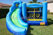4M long inflatable water slide for kids play