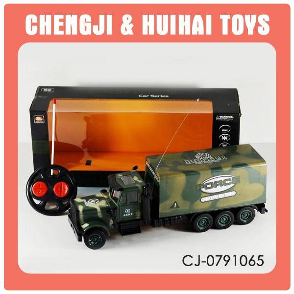 new & hot plastic racing kid rc military vehicles for sale W/light and music r/c toy