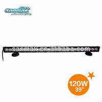 39'' CREE120w hot sell car light bar led 4x4 truck working led light bars off road SM6013-120
