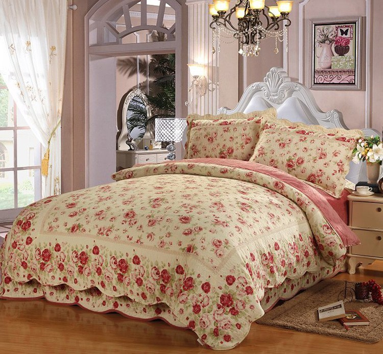 HK2833red.jpg . & Newest Cotton Queen Size Turkish Bed CoverEmbroidery Bed Cover ...