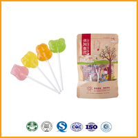 Wholesale Custom Fruit Flavours Lollipop Candy Lolly Confectionery