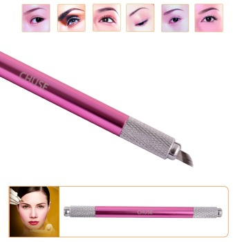 CHUSE Aluminium Permanent Manual Eyebrow 3D Tattoo Pen