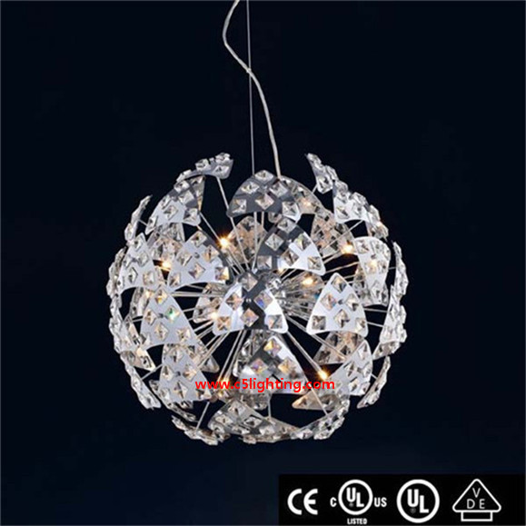 Newest arrival modern crystal Hanging lights old glass milk bottles