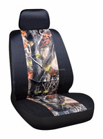 oak pattern off-road vehicle car seat cover for front