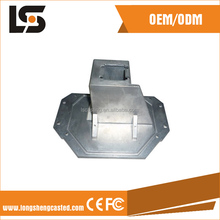 Customized aluminum die casting electronic components with powder coated finish