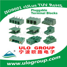 Design Cheap Pluggable Terminal Block Pitch 5.08 Mm Manufacturer & Supplier - ULO Group