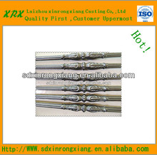strong wrought iron casting railing parts