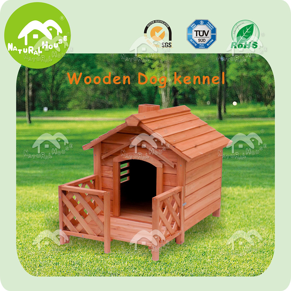 Cheap, top quality wooden dog kennel, dog cage outdoor