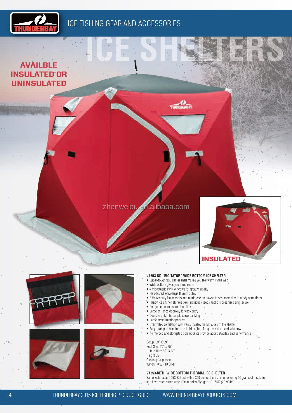 Winter Pop Up Shelter Interior : Pop up ice fishing shelter for winter and hunting