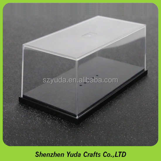 Acrylic Injection Model Car Box Transparent PS Diecast Display Case for 1:43 Scale
