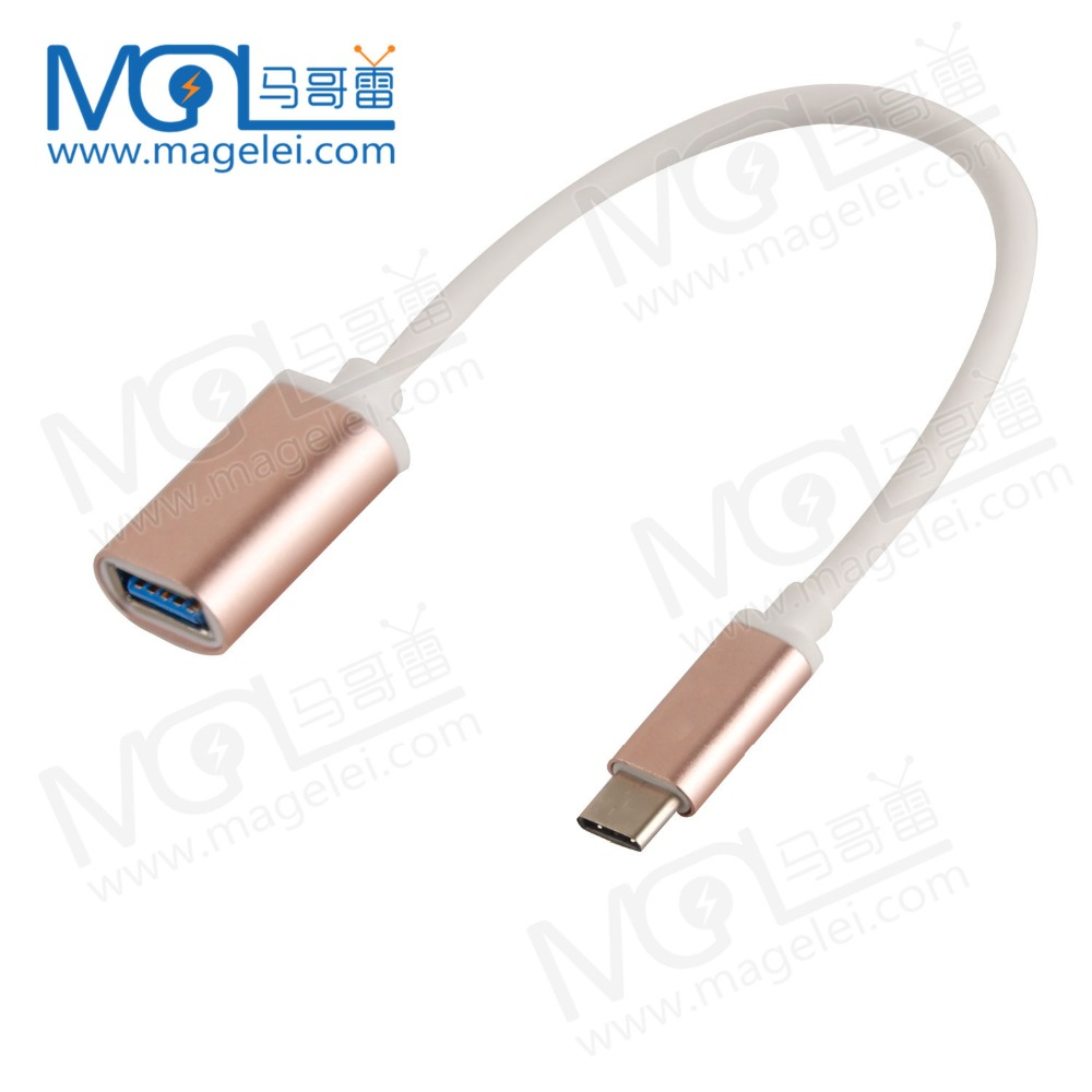 Type-C OTG Adapter to USB2.0 Data Cable for MacBook Extended U Disk Mouse For Letv One / Pro