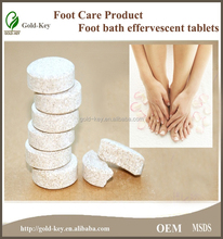 chinese herb medicine effervescent tablet for foot bath