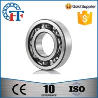 single row deep groove ball bearing 6204