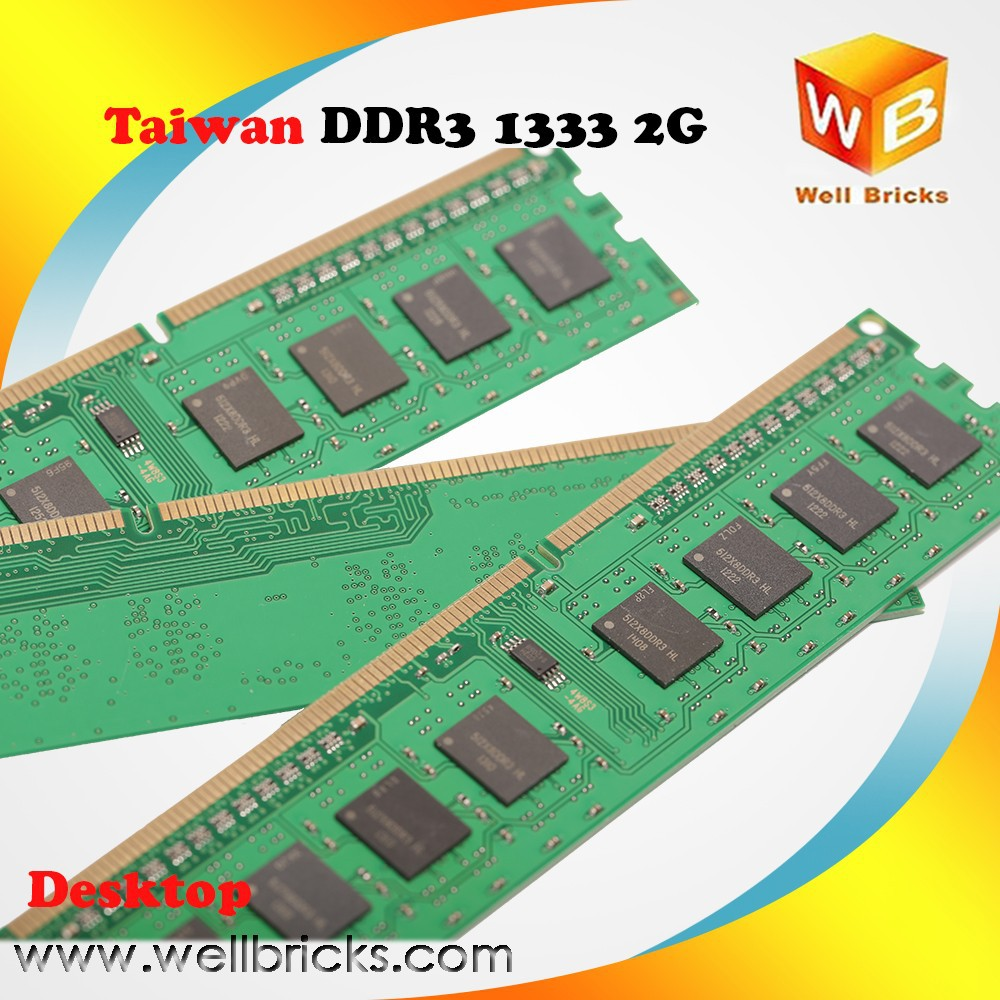 New and cheap 1333mhz best price Ram Memory DDR3 2g
