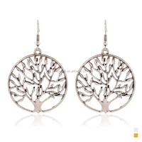 2015 China Wholesale Fashion Apple Tree Design Alloy Earring