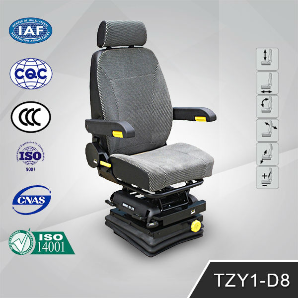 Function Adjustable air suspension Truck Driver Seats TZY1-D8