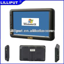 "Lilliput 7"" Embedded Touch Computer GPS Navigator with WinCE 6.0"