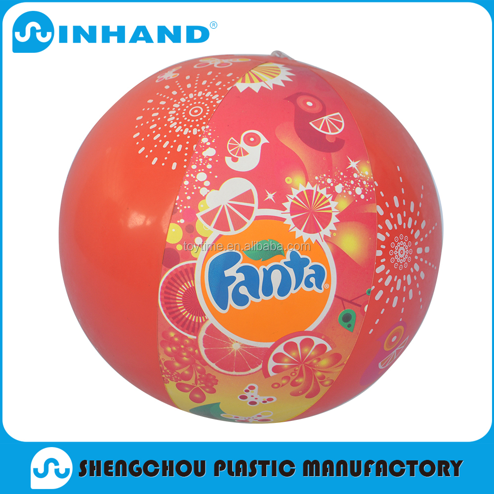 Promotional Wholesale Logo Customized Printed PVC Inflatable Beach Ball&Giant Beach Ball