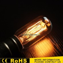 T38 Edison bulb 220V E27 25W 40W 60W vintage tungsten decorative edison lamp squirrel cage