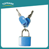 Toprank High Quality 3 Digit Travel Luggage Suitcase Padlock Zinc Alloy Changeable Combination Lock With 2 Keys