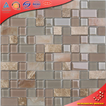 Hyc03 Grey marble tile peel and stick wall tile kitchen backsplash