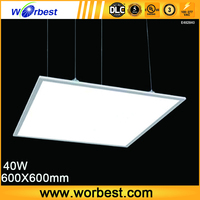 Worbest b2b china wholesale UL/DLC listed 600x600 40W led ceiling lamp
