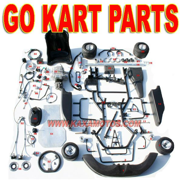 20HP 250cc Racing Go Kart Parts