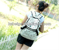 Fashion Boy Girl Backpack School Student Canvas Schoolbag Travel Outdoor Bag