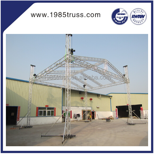 Aluminum audio truss sound truss system