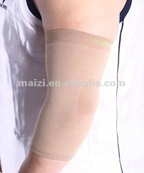 High elasticity elbow support