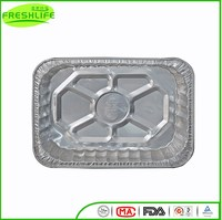Best price aluminum foil container aluminum foil tray for fruit packaging
