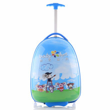 2016 Fatory New Design Baby Art Hardside Suitcases For Kids Carry-On Wholesale