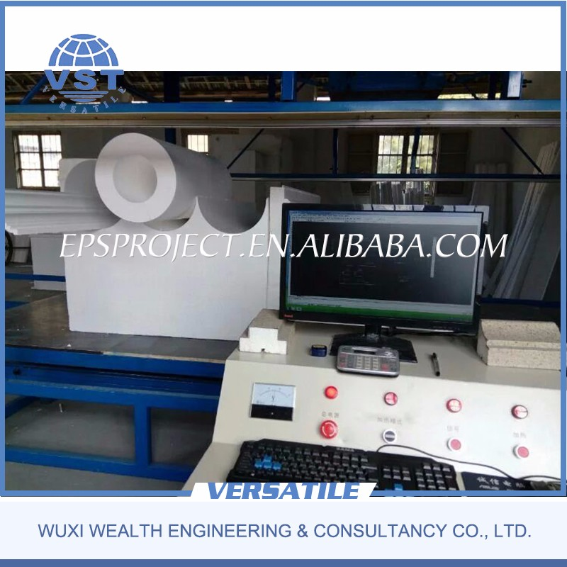 CE Certificate 2D Foam Shape EPS CNC Cutting Machine