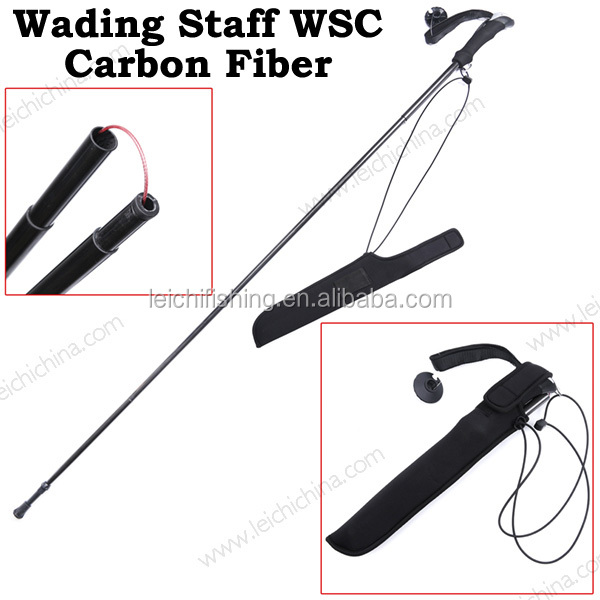Wholesale carbon fiber fishing wading staff