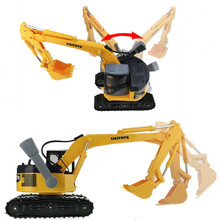 Big size excavator construction scale model