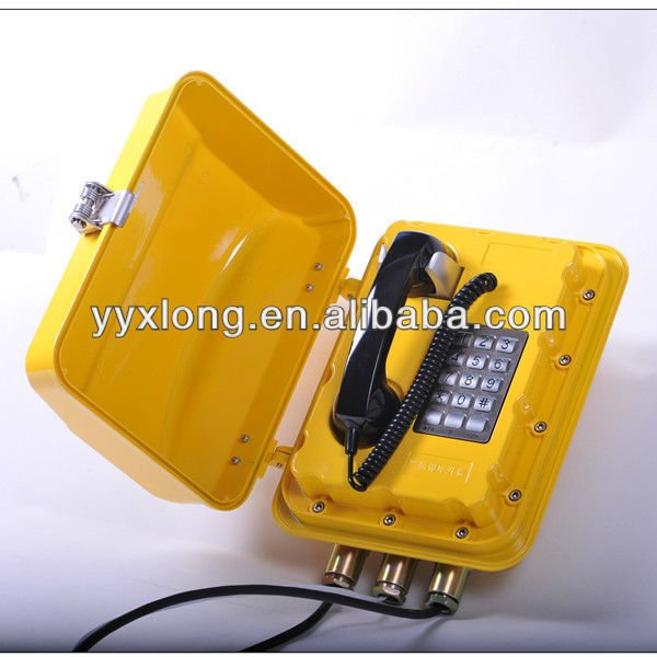 Intrinsically safe phone industrial Security phone
