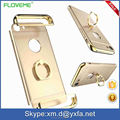 New Design For IPhone 7 7 Plus With Ring Stand Metal Case Rose Gold phone Cases Finger Ring Holder Mobile Phone Case
