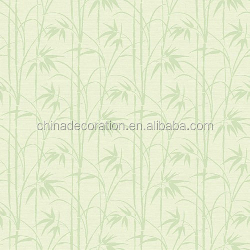 Classic natural bamboo design wallpaper for home use