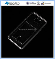 ultra thick clear transpare TPU Case Cover for Samsung Galaxy Note 5, with card slot, case for samsung note 5