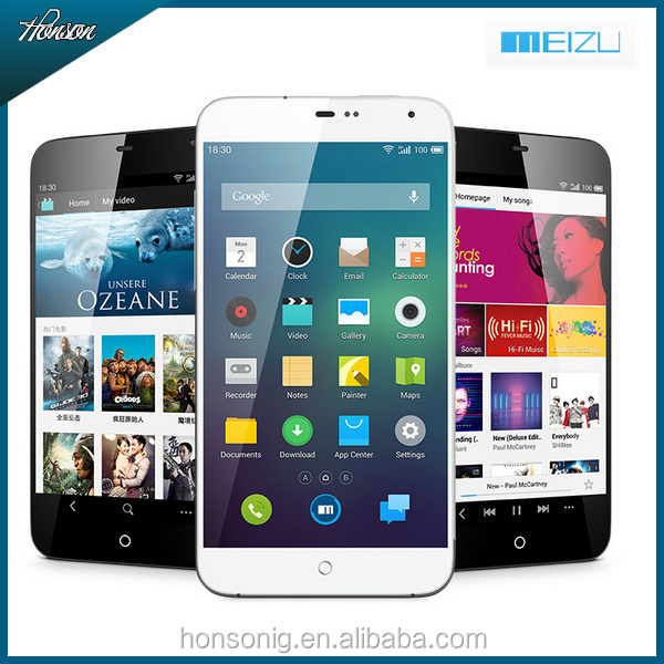 Meizu MX3 16GB White Original Cell Phone 5.1'' Android 4.2 Exynos 5410 Octa Core RAM 2GB ROM 16GB 32GB 64GB Micro SIM 8MP Camera