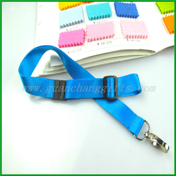 New hot products on the market id card holder nylon neck lanyard with safety clip