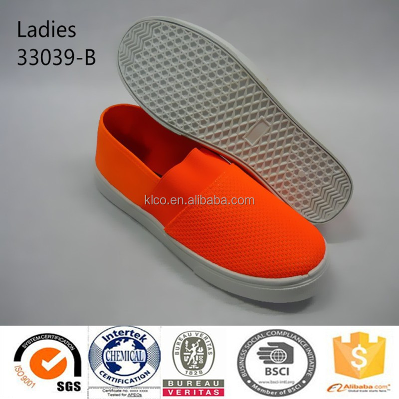 latest design wholesales lady soft ventilate sneaker shoes