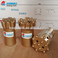 T45 thread hard rock drill bit, top hammer drill bit