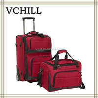 2pc woman luggage suitcase/24 inch trolley luggage