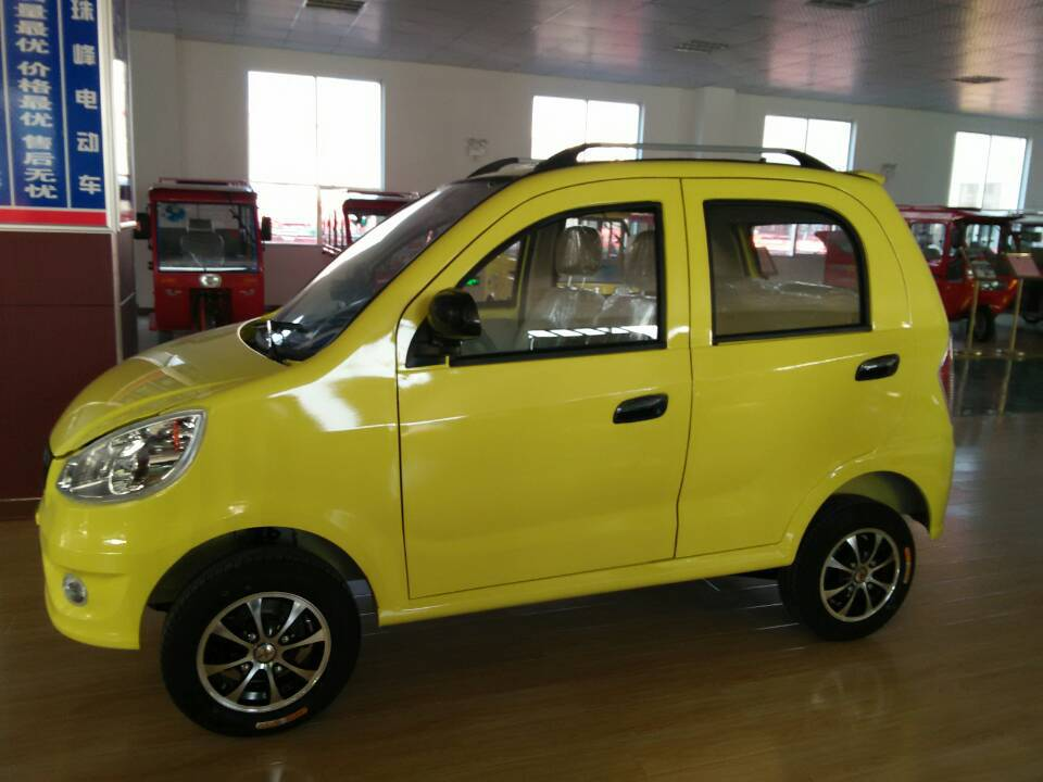 Chinese 4 seater electric car without driving licence
