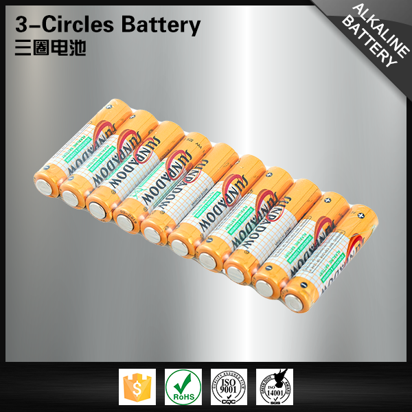 China manufacture toys durable size aaa LR03 1.5v alkaline battery